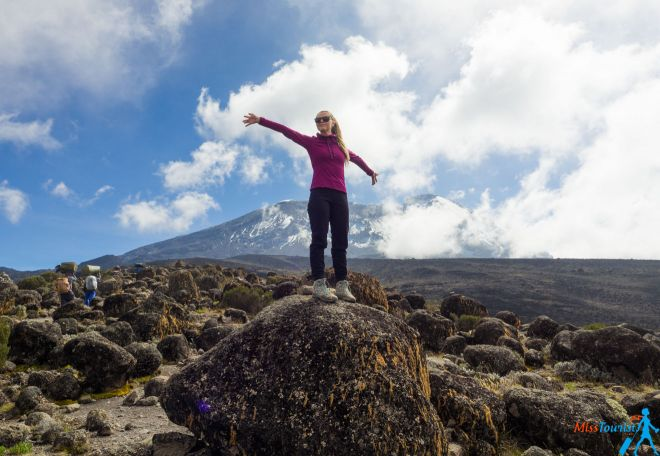 woman kilimanjaro