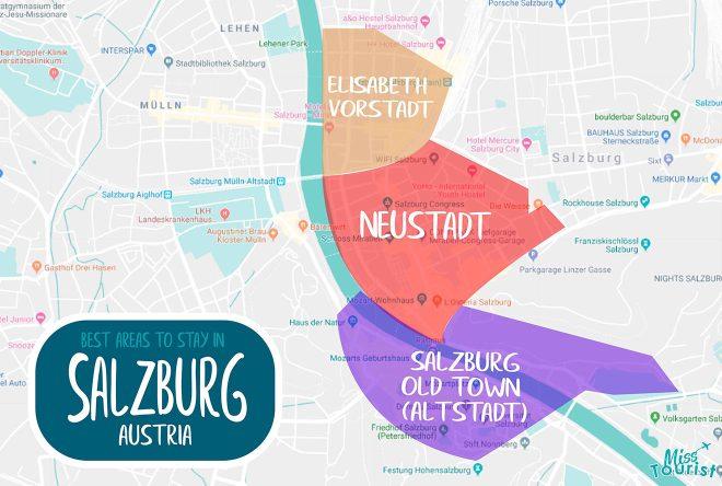 salzburg districts