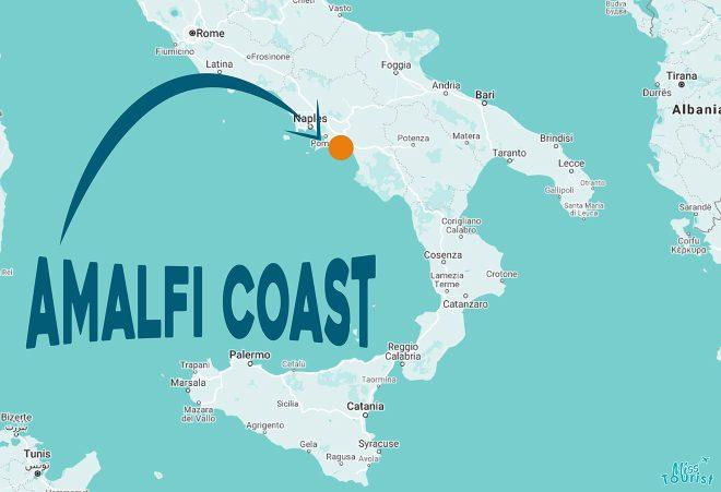 where is amalfi coast