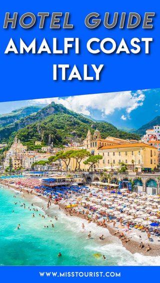 hotels in amalfi coast