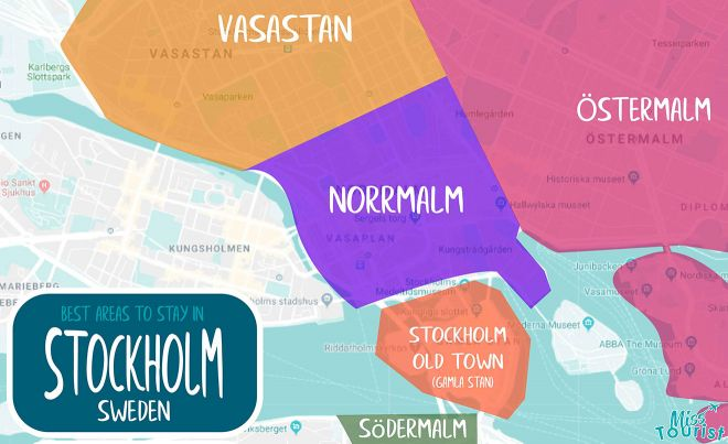 stockholm areas
