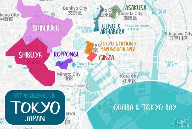 tokyo areas