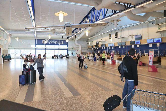 aéroport suédois