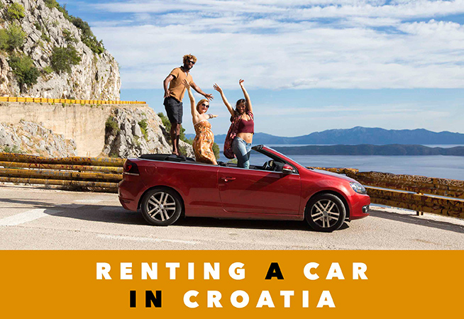rent car croatia