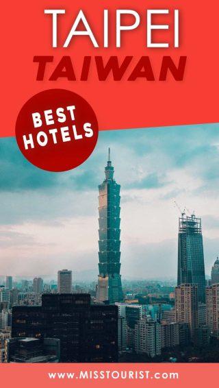 hotels in taipei taiwan