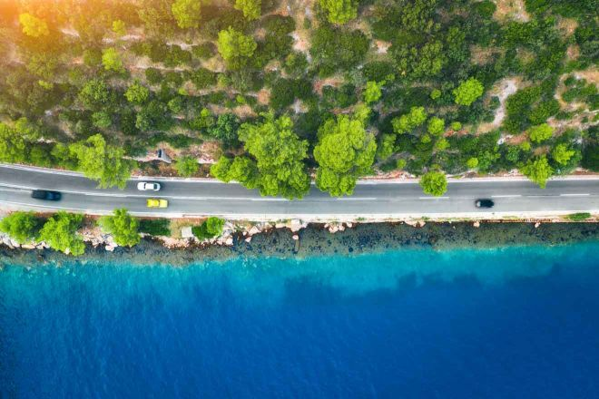 sea coast croatia