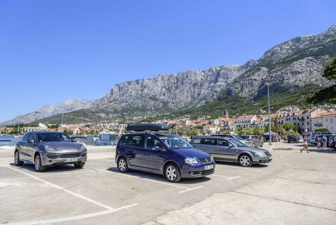 makarska parking croatia