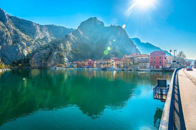 croatia town coastline scenery