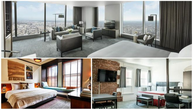 hotels in downtown los angeles