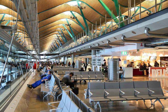 madrid barajas airport in spain