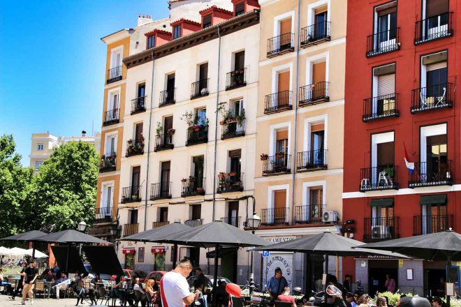 Coffee shop terraces madrid