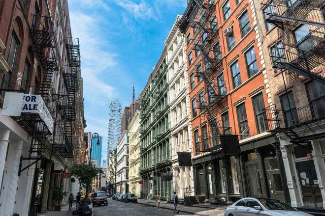 la partie basse de Manhattan