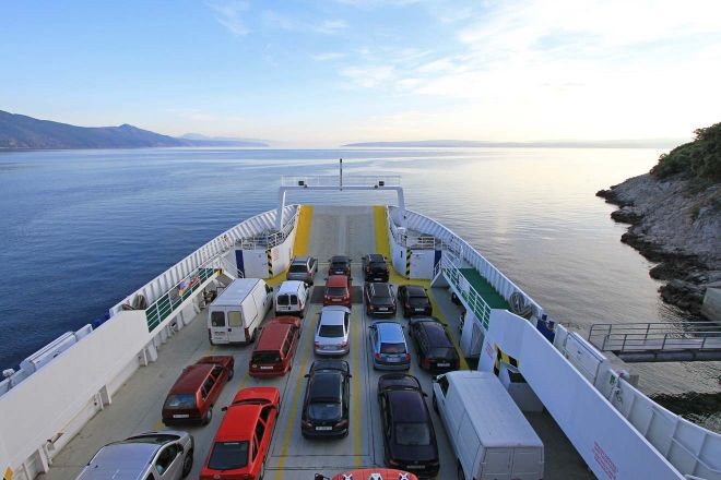 ferry boat croatia
