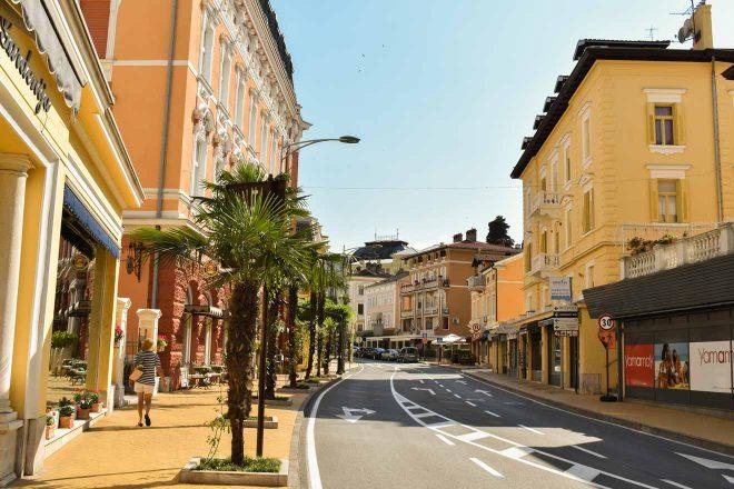 street in opatija