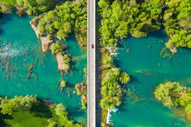 mreznica river croatia