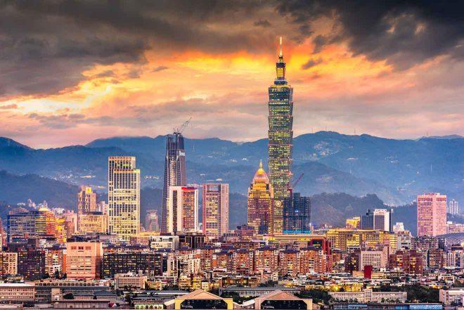 taiwan urban cityscape