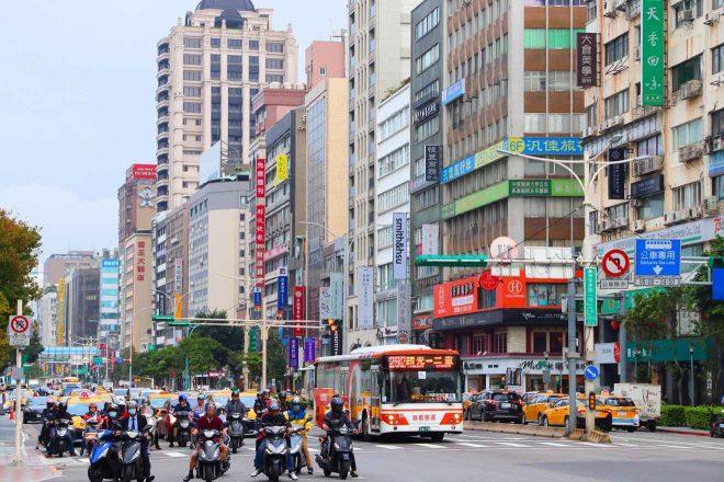 zhongshan district shopping area