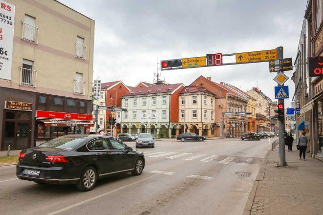 traffic light croatia