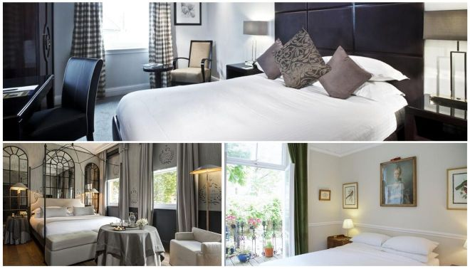 trendy hotels london