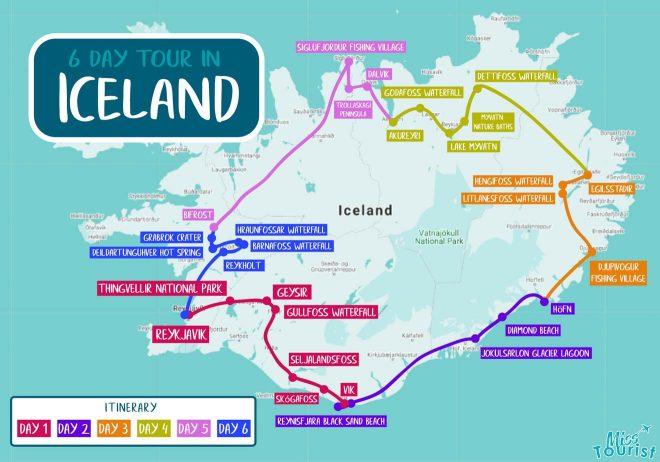 6 day iceland tour