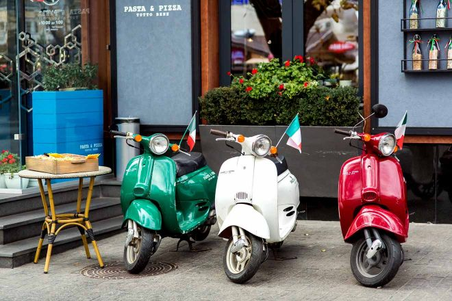 scooter rental rome