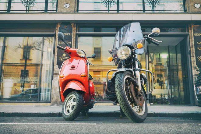 motorbike rent rome