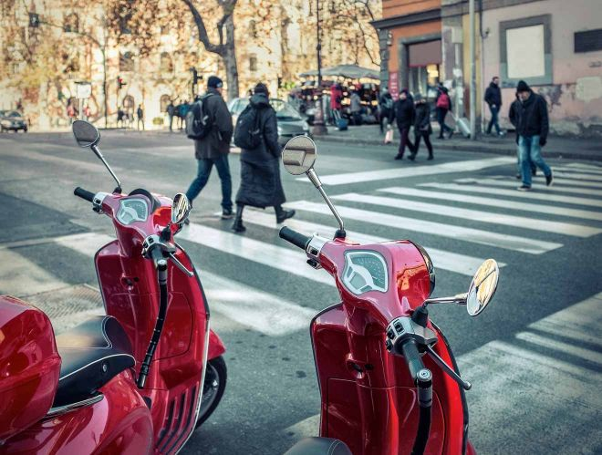 location scooter rome