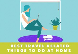 travel online from home