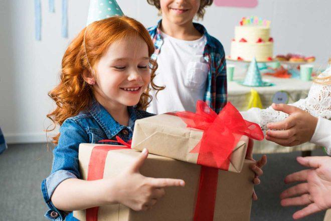 receiving presents