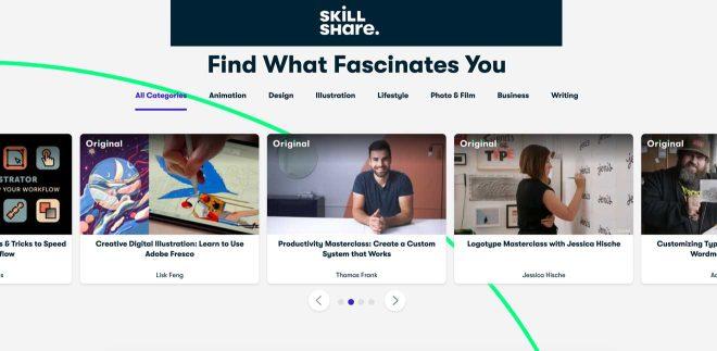 skillshare learning