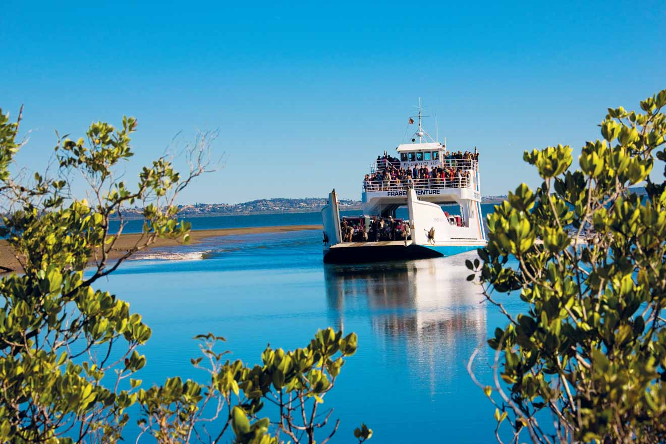 motor ship things to do in fraser island