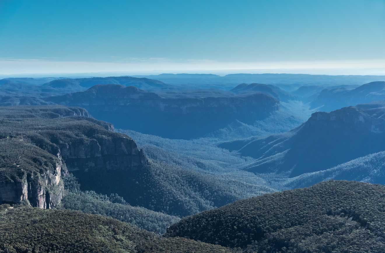 Blue Mountains National Park australia facts