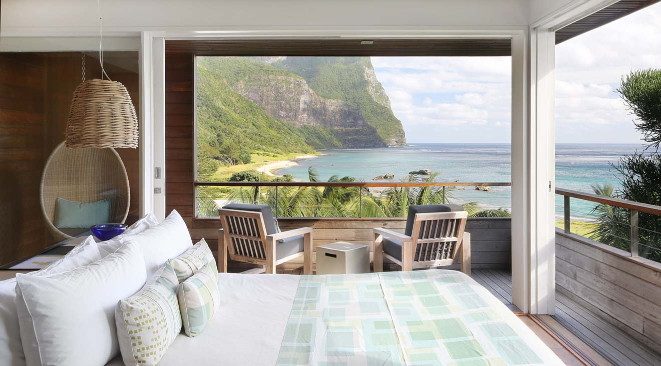 Capella Lodge Lord Howe Island View