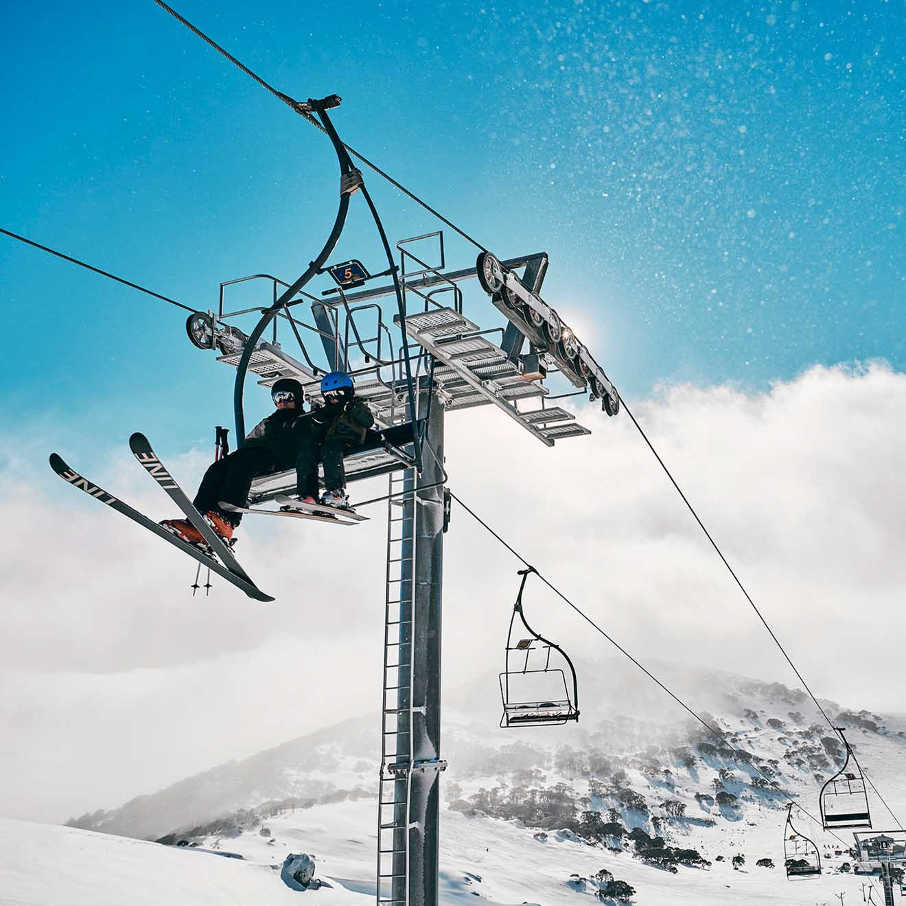 Charlotte Pass Ski Resort Kosciuszko National Park mountains