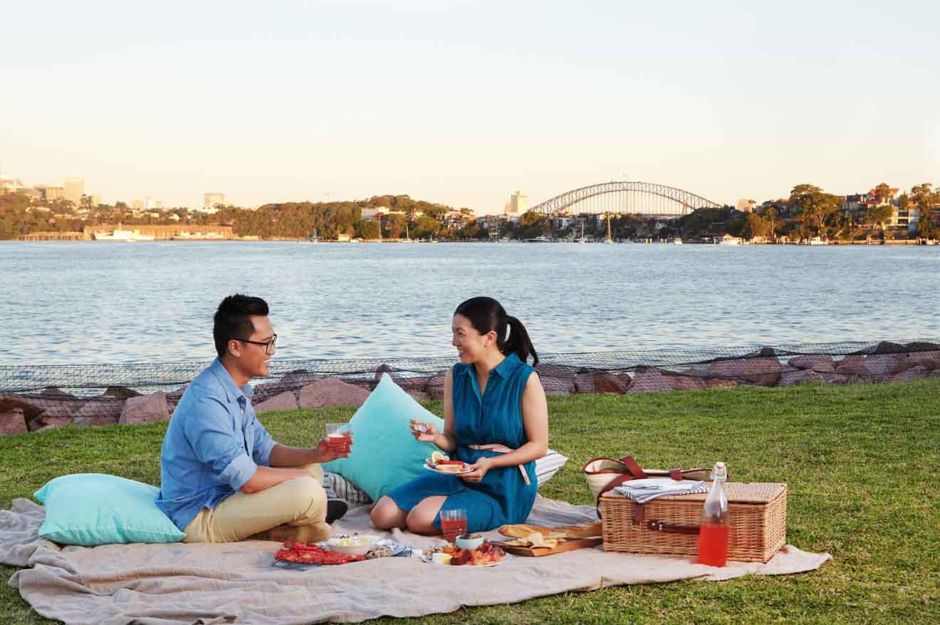 Cockatoo Island, Sydney picnic