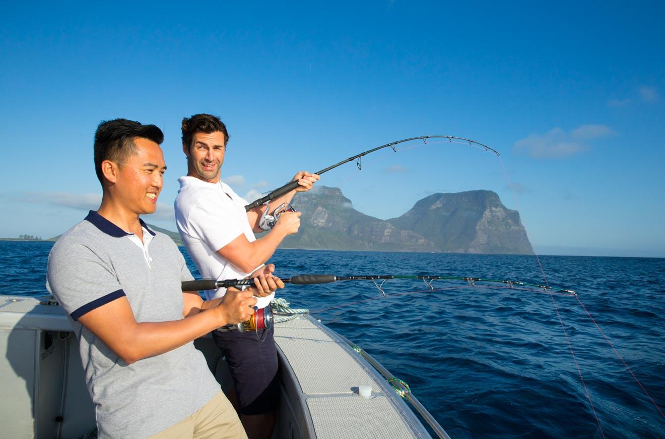 Deep Sea Fishing Lord Howe Island boat