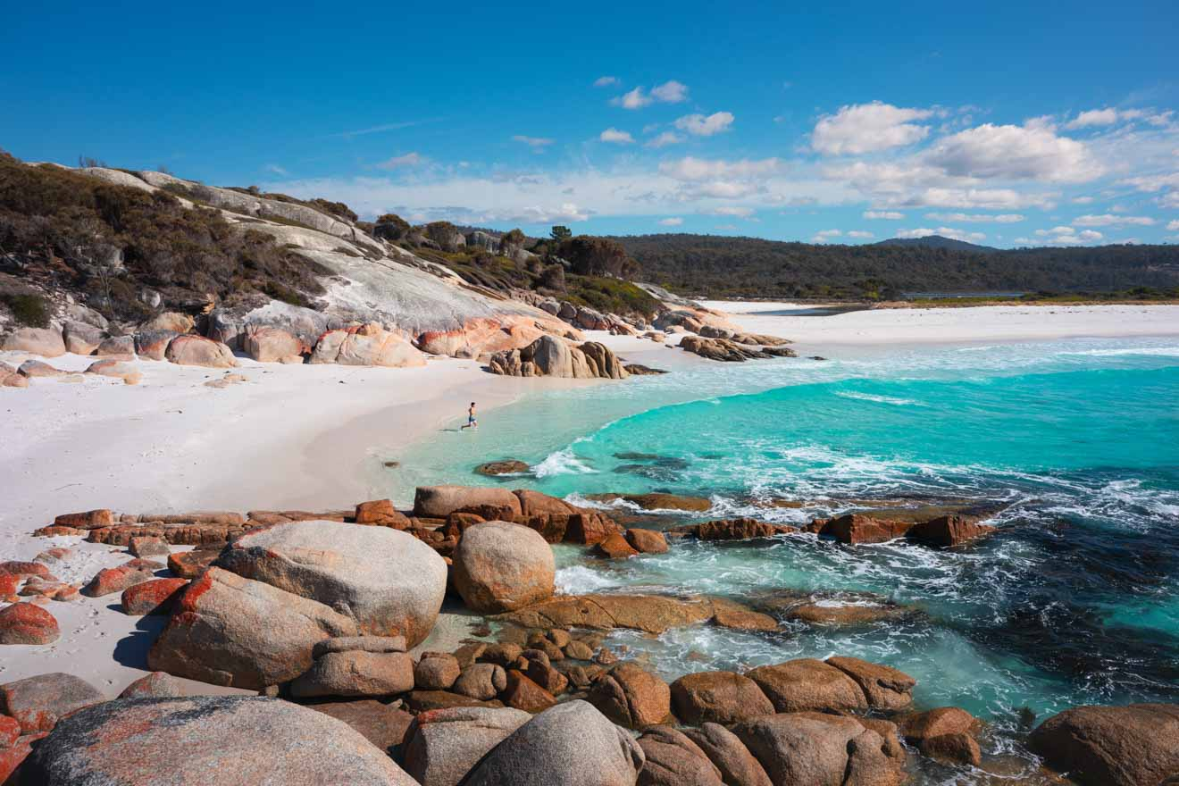 East Coast of Tasmania Beach