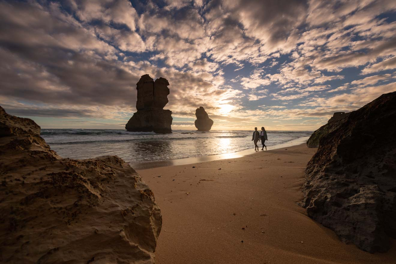 great ocean road highlights - Gibson Steps Beach Great ocean road itinerary