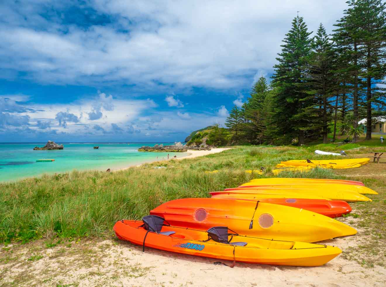 Kayaking Lord Howe Island getting there