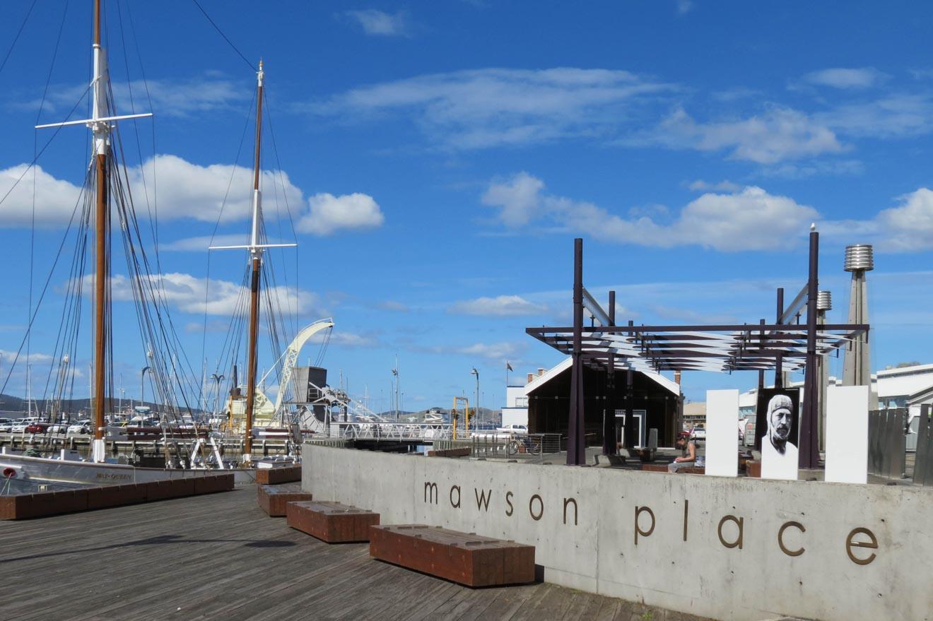 Mawson Pavilion, Mawson Place Hobart australia