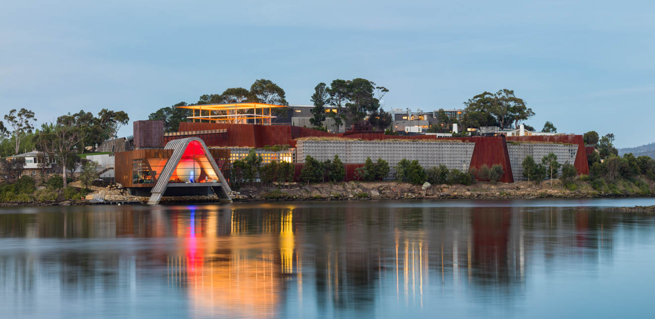 Mona exterior Hobart for families