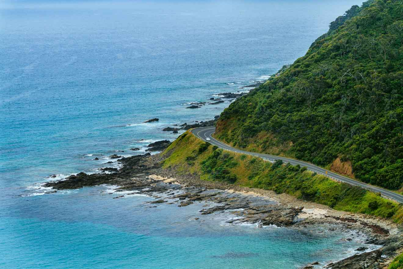 great ocean road attractions map - Mountain Great ocean road itinerary