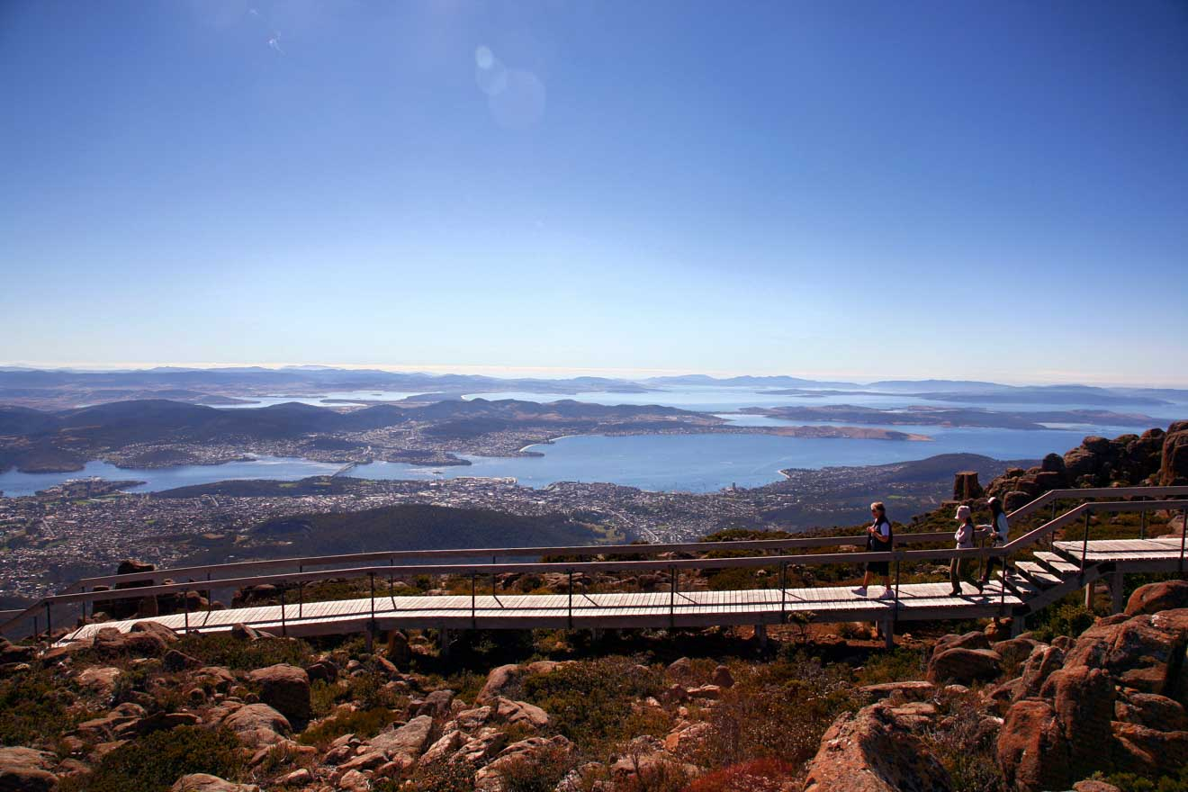 Mt Wellington Hobart tasmania tour