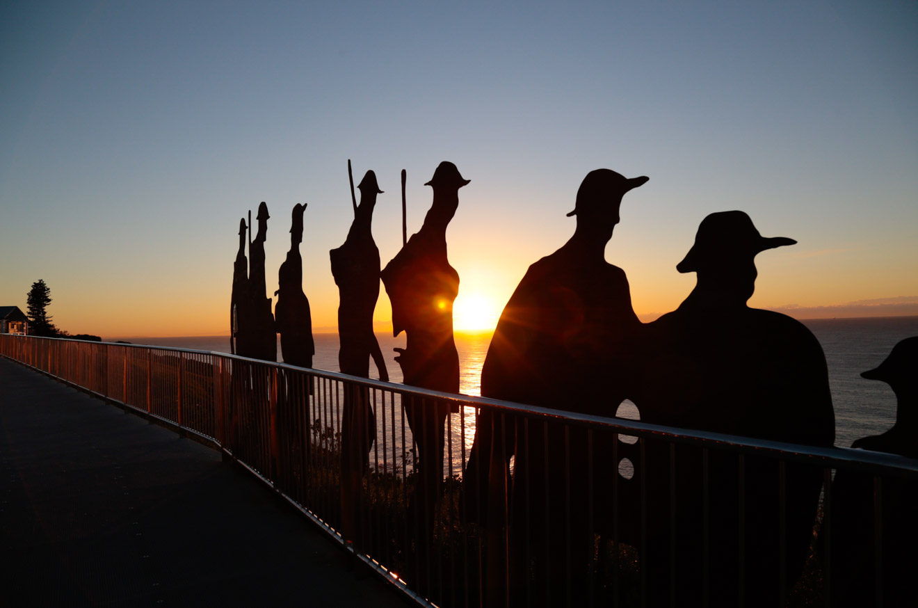 Newcastle Memorial Walk tour NSW