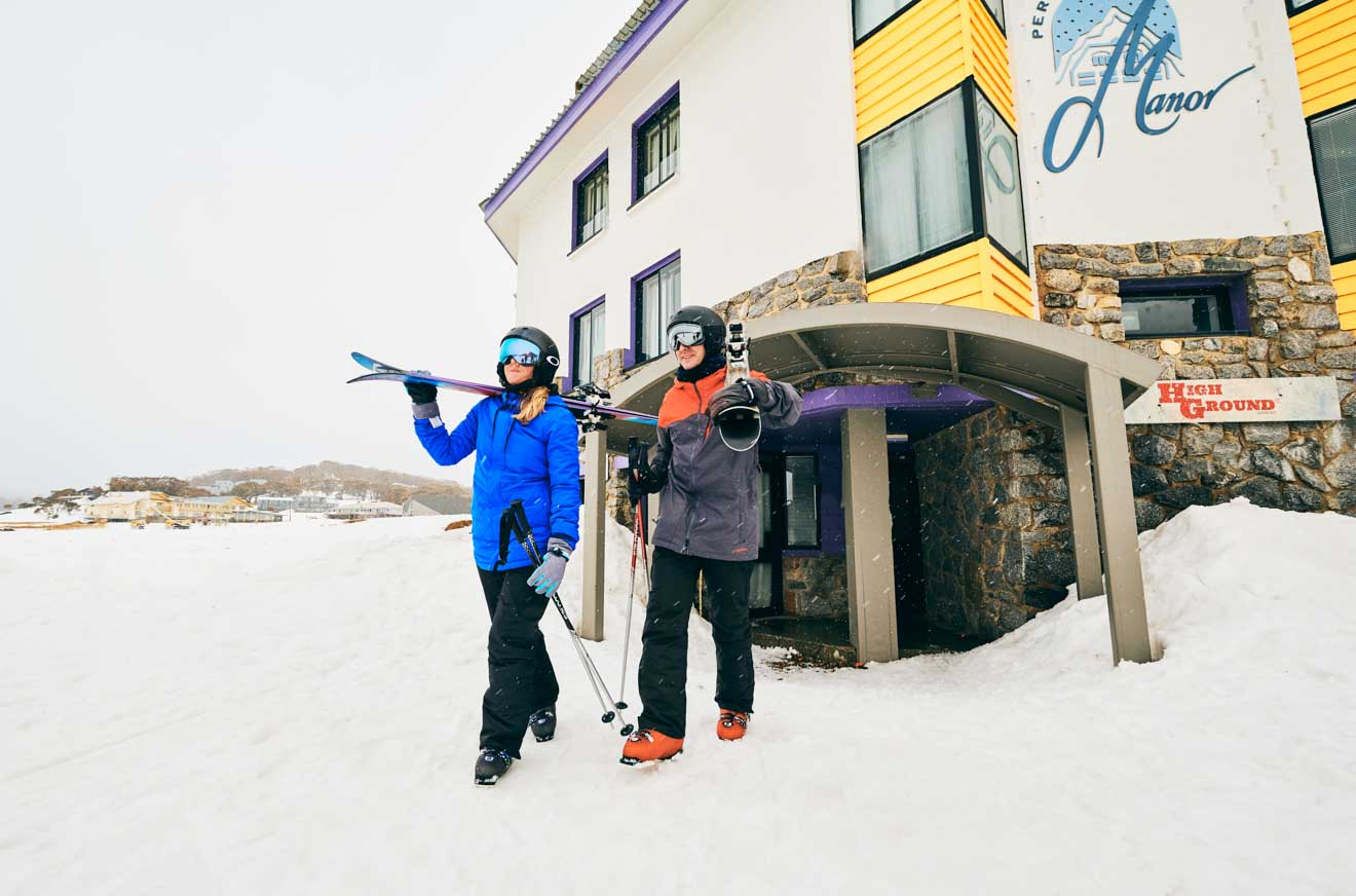 Perisher in the Snowy Mountains alpine hotel