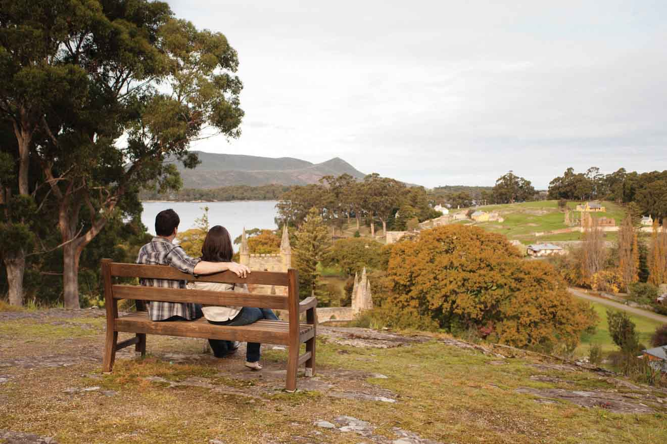 Port Arthur Historic Site Romantic tour