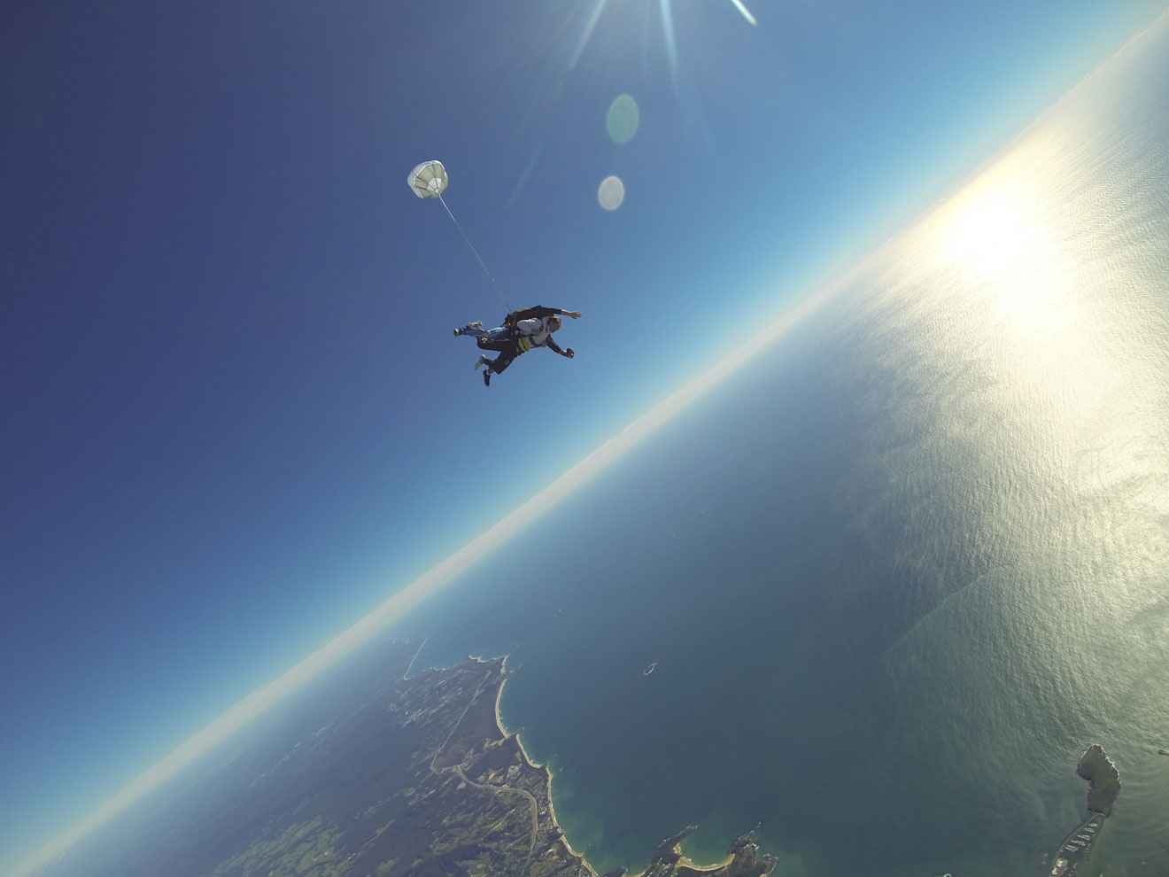 skydiving things to do in sunshine coast
