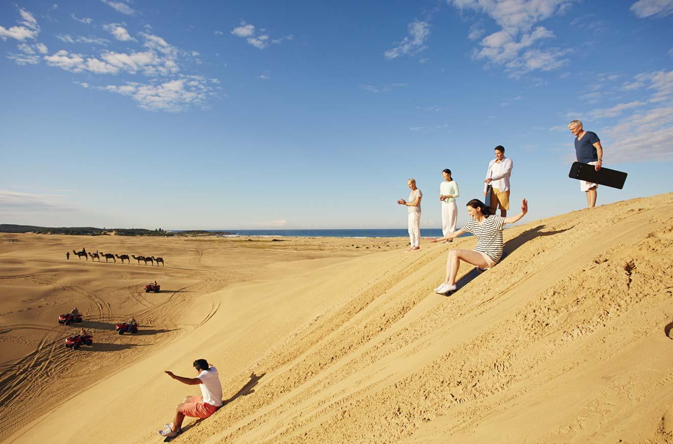 Stockton Sand Dunes Stockton Beach Newcastle Australia