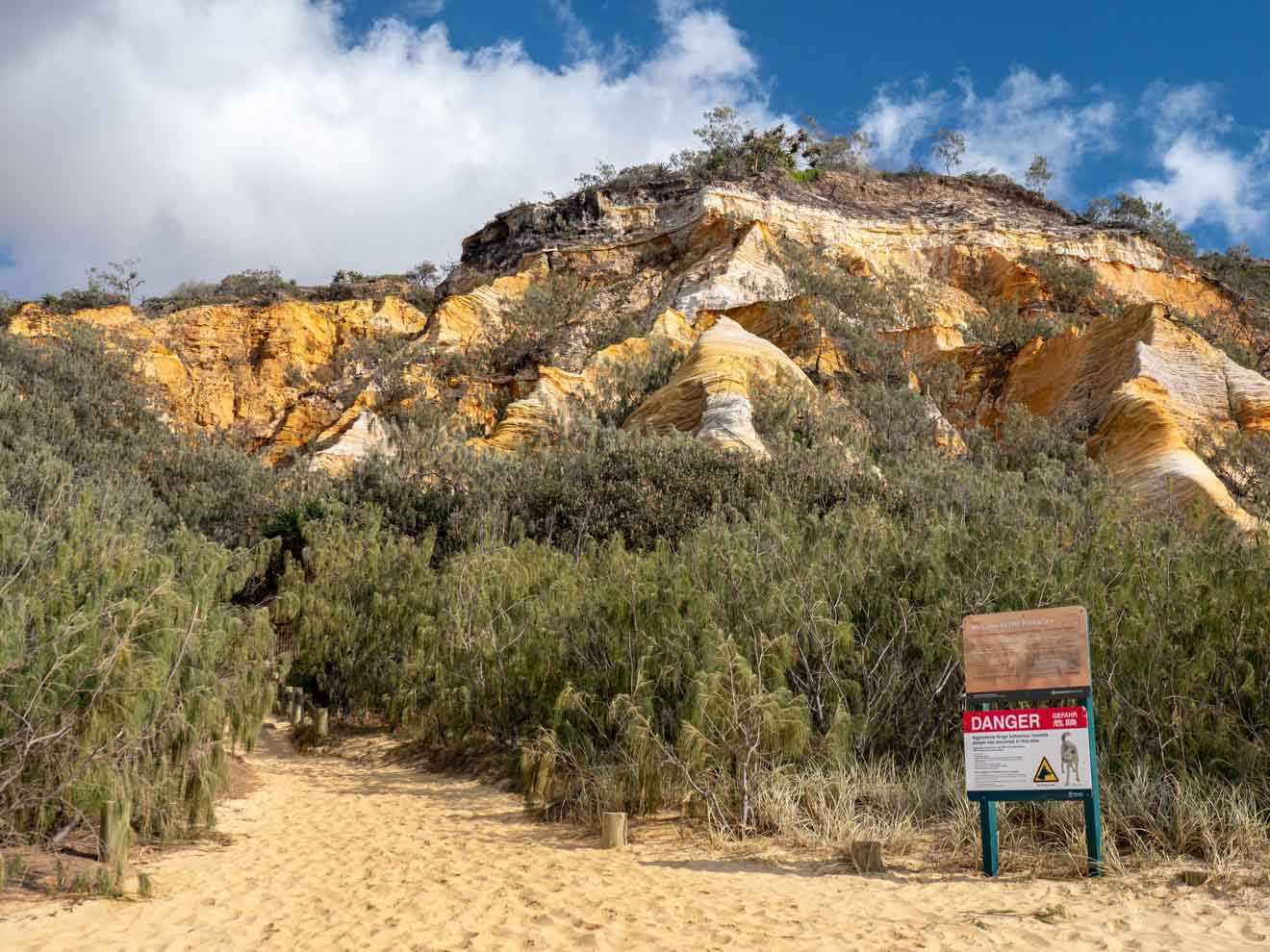 pinnacles things to do in fraser island