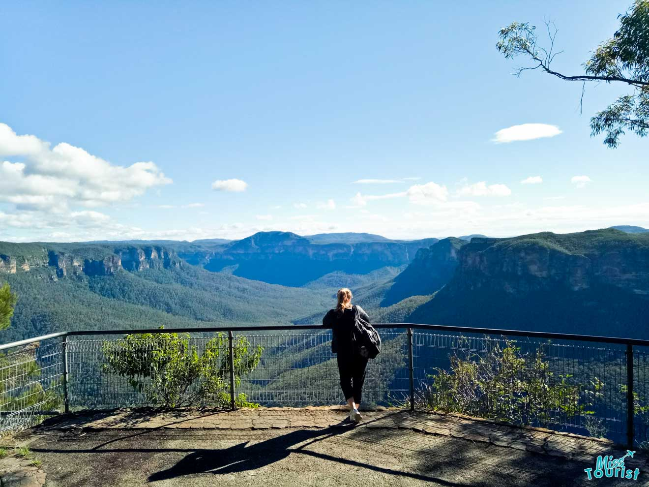 Three Sisters Echo Point Blue Mountains view